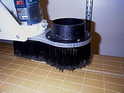 CNC SHARK PRO-dust-foot-jpg