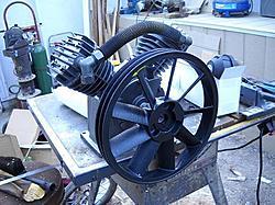 V air compressor to Alpha Stirling engine conversion????-aircompressor-jpg