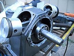 V air compressor to Alpha Stirling engine conversion????-cyloff-jpg