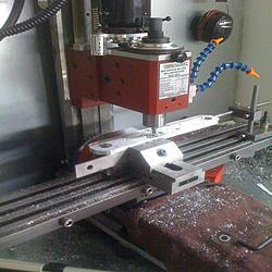 New Machine Build CNC Mill Flood Coolant Cabinet