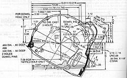 CAD drawings of most popular V8 engine bellhousing patterns-slant6-jpg
