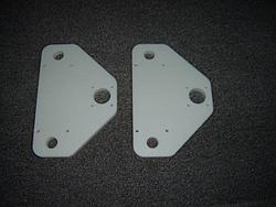 Joe's CNC Model 2006-motor-leadscrew-mount-plates-jpg