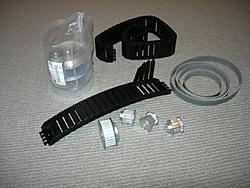 Splints router build log-pulleys-belts-energy-chain-jpg