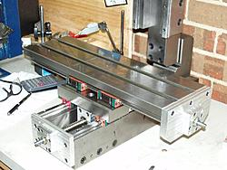 New milling machine project