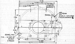 CAD drawings of most popular V8 engine bellhousing patterns - Page 3