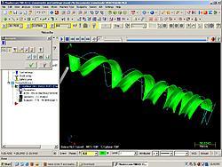 worm screw 4 axis mastercam X HELP