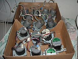 Raiding photocopiers for steppers-motors2-jpg
