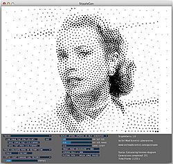 Halftone image g code creator.