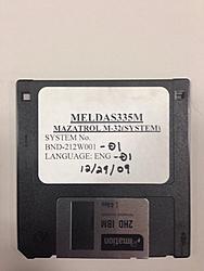 Mazak M32: Check sum error before boot