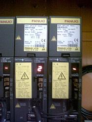 Problem Fanuc Servo Amp alarm 02