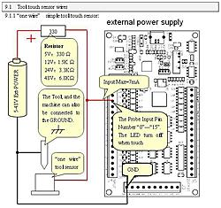 z axis auto zero plate wiring on usb motion controller touch light wiring diagram