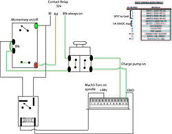 cnc spindle wiring diagram need help! mach3 spindle control w/ relay