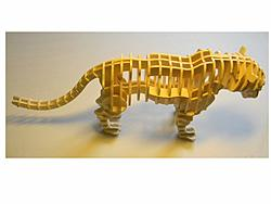Dinosaur skeleton, and other models, DXF files
