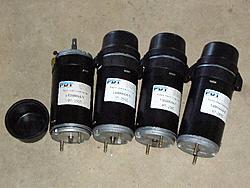 Hafco Metal Master HM-52 CNC Conversion-servo-motors-one-end-machined-o-ring