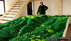 Largest Scale Model made with CNC Router-defileul-jiului-1-jpg