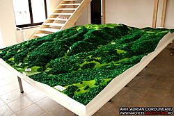 Largest Scale Model made with CNC Router-defileul-jiului-9-jpg