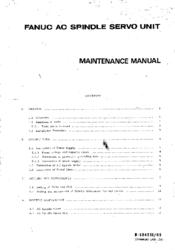 FANUC AC Spindle Servo Unit maintenance manual-fanuc-ac-spindle-servo-unit-maintenance-manual