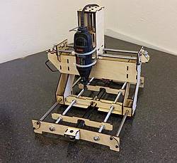 new machine build new mini desktop cnc router design