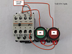 Product together with Electric Water Wiring Diagram moreover Overload Relay Working Principle And moreover Star Delta 3 Phase Motor Automatic further Motor control. on wiring a switch with contactor coil