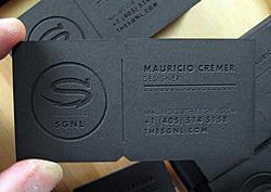 Cut card stock