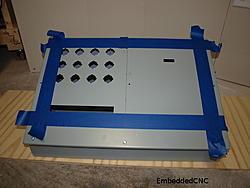 Denford NovaTurn Servo retrofit AMD Gizmosphere iBOB2 PCIe x1-control-cabinet-taped-layout-jpg