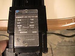 AC servo conversion on CNC Patriot VFD machine-4-jpg