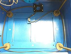 China 50W laser Z Axis motor setup