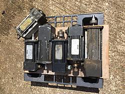 Cincinnati Vickers/Kollmorgen drives motors