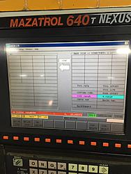Need Help! MAYDAY! MAYDAY! MAZAK QTN-200MY USER PARAMETER