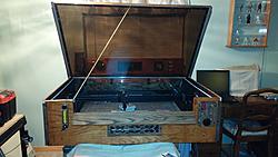 New Machine Build K40 Laser 8020 Extrusion Rebuilds