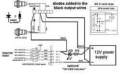 G540 and NPN Prox. Switch G Limit Switch Wiring Diagram on