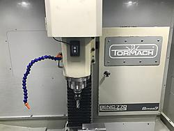FS: Tormach 770 CNC w/ all accessories