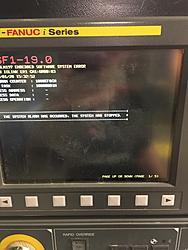 Doosan Lynx 300 System Software Error