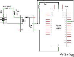 Limit switch noise: Optocoupler, 12v, 24v?