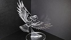 Projects Made on the Novakon/Bodor Laser-acrylic-eagle-stand-jpg