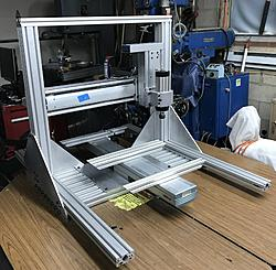 DIY CNC Router using Linear Actuators-table-acturator-trial-fit-jpg