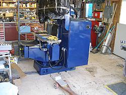 Yamazen CNC knee mill-moving-jpg