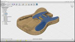 Newbie Blender, Rhino, Aspire or Fusion 360 for guitar design and