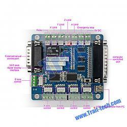 Need Help! Break out board - VFD - Mach 3 wiring on