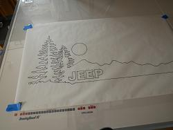drawing out vehicle door graphics-p1000450-jpg