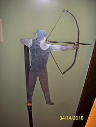 Design of archer silhouette for an archery  trophy-100_3951-jpg