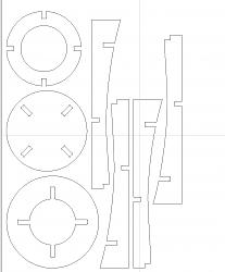 Traced out a shop stool from a full sized diagram-nested-parts-jpg
