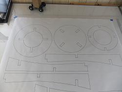 Traced out a shop stool from a full sized diagram-paper-plan2-jpg