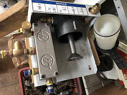 Haas standard coolant filter-powder-coat-shop-jpg