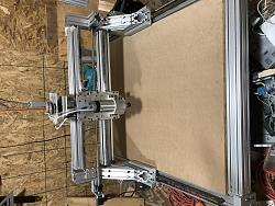 Rigid 3-Axis (with potential for additional) CNC router for sale in Savannah, GA.-img_0184-jpg