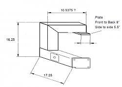 Haas Toolroom Mill TM1 Tool Changer Arm-arm-dims-jpg