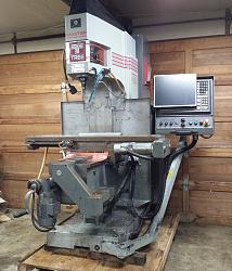 TREE Journeyman 425 Vertical 3-Axis CNC Knee Mill Milling Machine Dynapath-2015-02-05-19-54-18-jpg