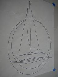 tracing a sailboat design and creating a dxf  file for cutting-net1-jpg