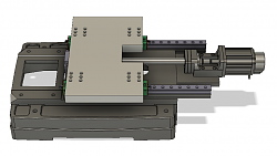 PM-932m CNC Conversion-pm-932m-linear-rails-v6-base-side