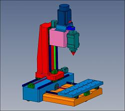 Epoxy granite milling machine and Polish engineering.-mill-no6-jpg